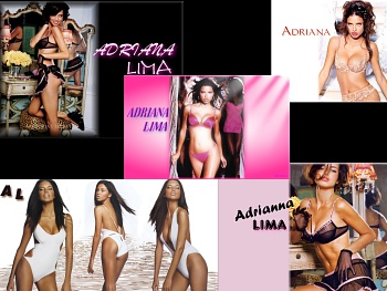 Download Adriana Lima wide wallpapers