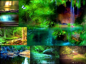 Download Alluring Water Scenes Animated Wallpapers