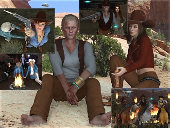 Download Cowgirls & Aliens Wallpapers