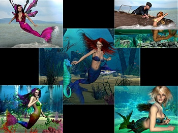 Download Mermaid Fantasy wallpaper
