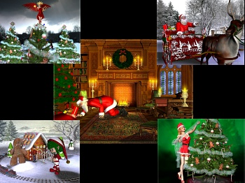 Download Christmas Scenes wallpaper