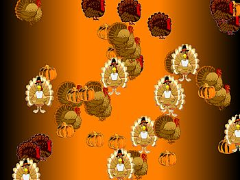 39 turkeys 39 screensaver - Thanksgiving screen backgrounds ...