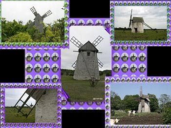 Download Old Wind Mills wallpaper